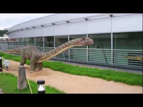 Mamenchisaurus Dinosaur Herbivore-Dino Park Praha-Czech Republic