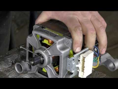 Замена шкива на моторе стиральной машины.