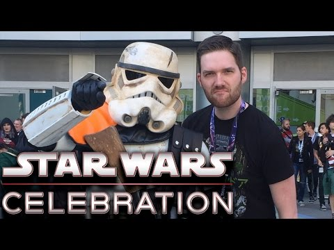 FACEBOOK: https://www.facebook.com/ChrisStuckmann TWITTER: https://twitter.com/Chris_Stuckmann OFFICIAL SITE: http://www.chrisstuckmann.com Chris Stuckmann went to the Star Wars Celebration...