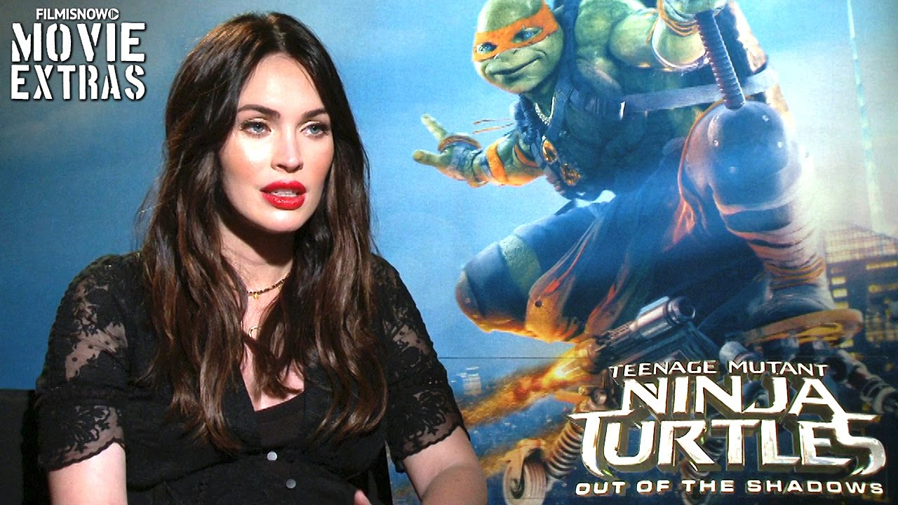 Megan Fox talks about Teenage Mutant Ninja Turtles Out of the Shadows (2016)