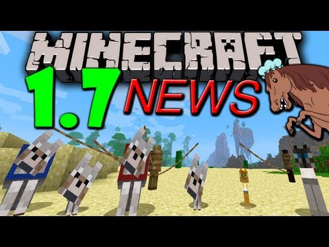 Minecraft 1.6 Snapshot: 1.7 News. Biome/Ocean Update. Dragons Revisited. Pet Stealing 13w25c