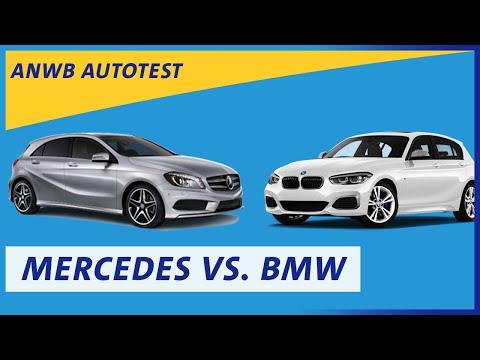 ANWB test Mercedes A-klasse versus BMW 1-serie