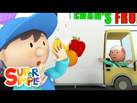 Fran's Fruit Truck goes through the car wash | Cartoon for kids