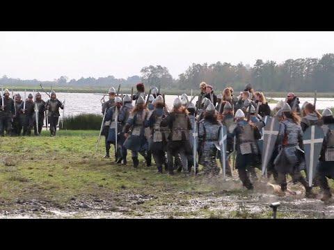 Epische veldslag voor Redbad-film in natuurgebied De Alde Feanen