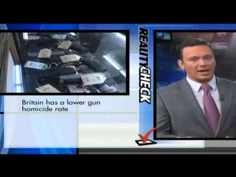 TV Anchor's Extreme Fact-Check of Piers Morgan's Anti-Gun Claims