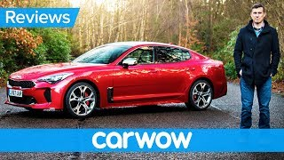 Kia Stinger 2018 in-depth review - better than a BMW or Audi?   carwow Reviews