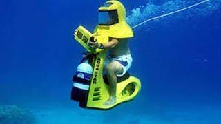 УДИВИТЕЛЬНЫЙ подводный транспорт