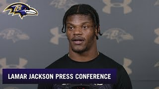 Lamar Jackson Says Madden Speed Still Too Low | Baltimore Ravens