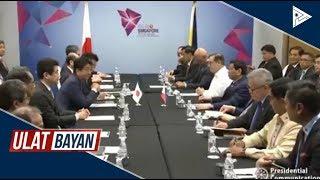 Bilateral meeting nina Pangulong #Duterte at Shinzo Abe, naging matagumpay
