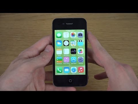 iPhone 4S iOS 7.1.2 - Review (4K)