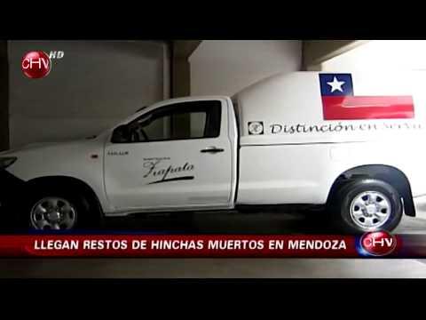 Repatriados: Restos de padre e hijo que fallecieron en Mendoza llegaron a Chile
