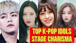 Top K-Pop idols with the best stage charisma