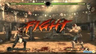 Mortal Kombat Walkthrough  Baraka Ladder Part 10