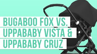 Bugaboo Fox 2018 vs. UPPAbaby Vista & UPPAbaby Cruz Stroller Comparison | Ratings, Reviews, Prices
