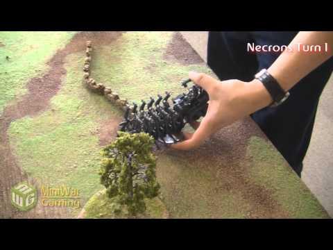 Orks VS Necrons Warhammer 40k Battle Report - Part 1/6 - Beat Matt Batrep