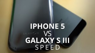 iPhone 5 LTE Speed Test vs Galaxy S III