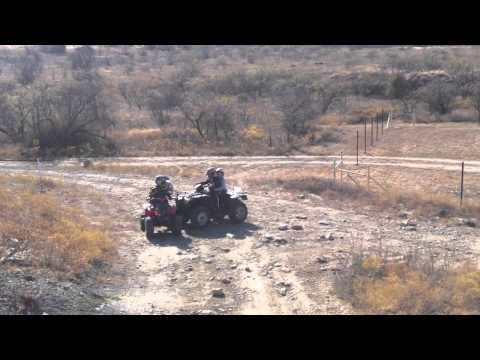 Bridgeport, TX ATV Off-Road Park Driving Carlos & Renee