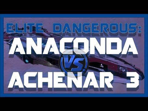 My Search & Rescue Anaconda Vs Achenar 3 - Elite: Dangerous