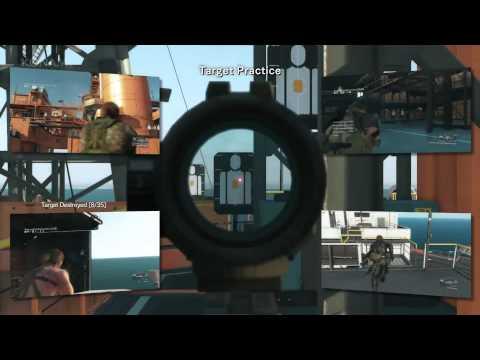 Metal Gear Solid 5: The Phantom Pain– Full Gamescom 2015 Gameplay Demo PS4