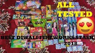 Diwali Fireworks Stash with TESTING 👍 | Best Buy in ₹2000 | Diwali ke Patake 2018 |