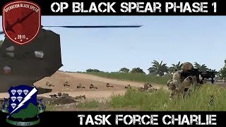 Operation Black Spear - Phase 1 - TF Charlie - ArmA 3 Gameplay