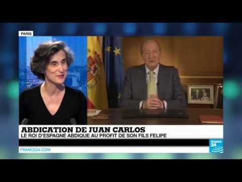 Abdication de Juan Carlos :