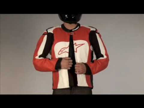 2010 Alpinestars MX-1 Leather Jacket