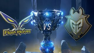 FW vs G2   Worlds Group Stage Day 6   Flash Wolves vs G2 Esports (2018)