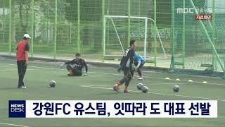 투/강원FC 유스팀, 잇따라 도 대표 선발