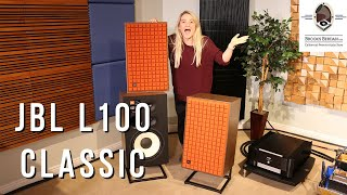 JBL L100 CLASSIC SPEAKERS Unboxing - Brooks Berdan Ltd.