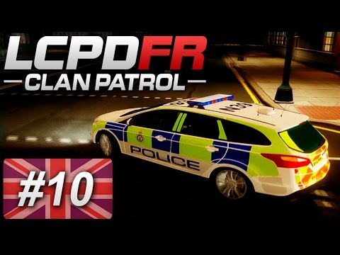 London's Calling Clan - GTA IV - Patrol 10 - British Transport Police (Multiplayer)