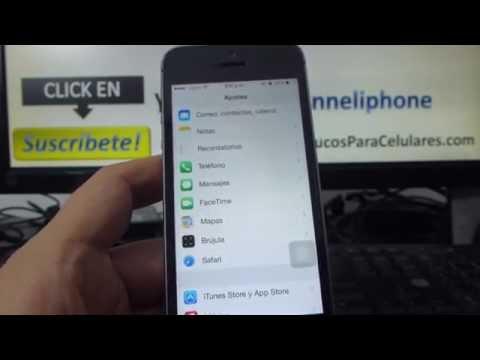 Cómo quitar la publicidad de del iPhone 5S 5C 5 4 iOS 7 español Channeliphone