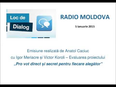 Loc de Dialog cu Igor Meriacre și Victor Koroli