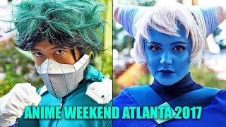 Anime Weekend Atlanta 2017 Cosplay Video