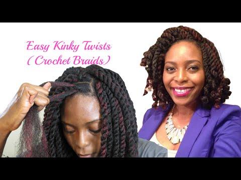 Easiest Kinky Twists Ever: Crochet Braids with Freetress Cuban Twist Hair