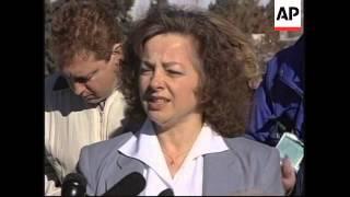 USA: DENVER: OKLAHOMA BOMB SUSPECT TERRY NICHOLS TRIAL: SENTENCE