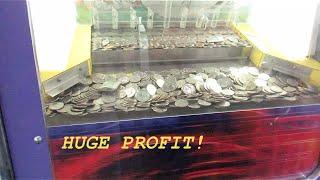 Coin Pusher- HUGE PROFIT!