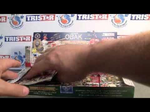Sportscardhaven Reviews: 2010 Tristar Obak Baseball