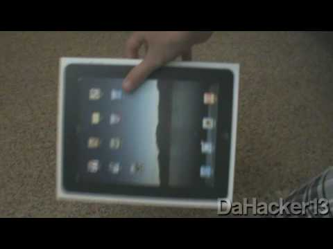 Apple iPad Unboxing! (16GB - Wifi)