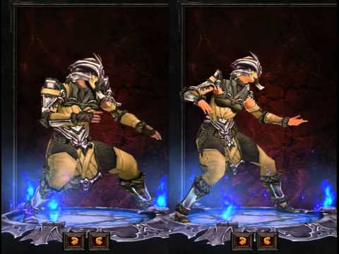 Diablo III - Monk Armor Preview
