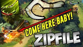 Zipfile Pudge [COME HERE BABY!] Highlights Dota 2