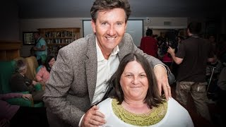 Daniel O'Donnell Visits Cuil Didin Nursing Home in Tralee, Kerry