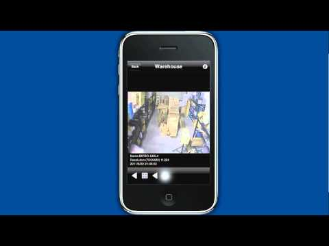 IP Video Server with iPhone App Enables Remote CCTV Camera Viewing