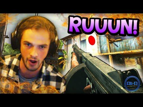 """""""RUUUUUUUN!"""" - Call of Duty: WaW - (w/ Ali-A!)"""