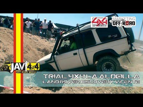 Trial 4x4 de La Aldeilla 2016 (Land Rover Discovery Vicente)