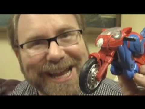 Transformers Spiderman COOL! Crossovers Toy Review by Mike Mozart