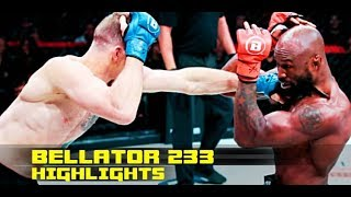 Bellator 233 highlights: King Mo gets KO'd in final fight