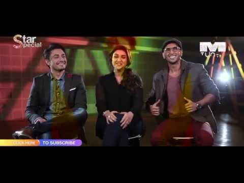 Ranveer Singh, Parineeti Chopra & Ali Zafar On Music Of kill Dil Only On Mtunes Hd video