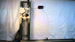 Nordic Stage Scout 782M Crash test - 14 lbs (6 kgs) power challenge