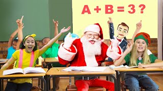 Easy DIY Science Experiment in Santa School | Educational Video for Children